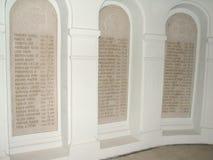 Interno del mausoleo di Marasesti Immagini Stock Libere da Diritti