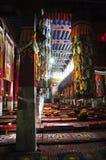Interno del monastero di Drepung Fotografie Stock