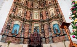 Interno del monastero di San Bernardine di Siena Immagine Stock Libera da Diritti