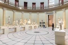 Interno del museo Berlino di Altes Immagine Stock