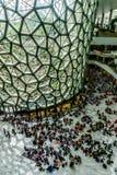 Interno del museo di storia naturale di Shanghai fotografie stock libere da diritti
