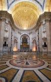 Interno del panteon nazionale, la precedente chiesa di Santa En Immagini Stock