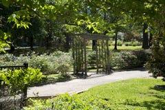 Interno del parco rosa in Tyler Texas U.S.A. Fotografia Stock