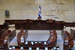 Interno del Parlamento israeliano Immagini Stock