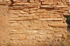 Interno del pueblo di Anasazi Fotografia Stock Libera da Diritti