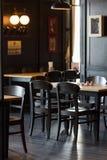 Interno del ristorante Fotografia Stock Libera da Diritti