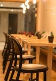 Interno del ristorante Fotografie Stock Libere da Diritti