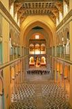Interno del san Louis Cathedral Carthage, Tunisia Fotografie Stock Libere da Diritti