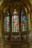 Interno del san Vitus Cathedral Immagine Stock Libera da Diritti