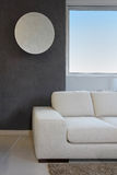 Interno del sofà Fotografie Stock