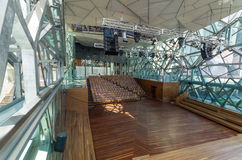 Interno del teatro del bordo di Deakin a Melbourne Immagine Stock Libera da Diritti