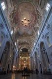 Interno del theSanta Maria del Carmine a Firenze, Italia Fotografia Stock