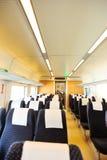 Interno del treno ad alta velocità Immagini Stock