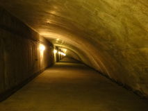 Interno del tunnel Immagine Stock Libera da Diritti