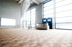 Interno dell'aeroporto Fotografie Stock Libere da Diritti