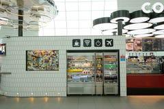 Interno dell'aeroporto di Dubai International Fotografie Stock