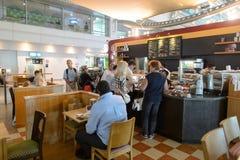 Interno dell'aeroporto di Dubai International Immagini Stock