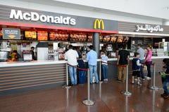 Interno dell'aeroporto di Dubai International Immagini Stock Libere da Diritti
