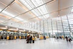 Interno dell'aeroporto di Monaco di Baviera Immagine Stock Libera da Diritti