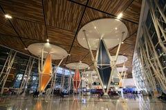 interno dell'aeroporto internazionale di Menara immagini stock