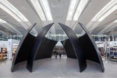 Interno dell'aeroporto internazionale di Toronto Fotografia Stock Libera da Diritti