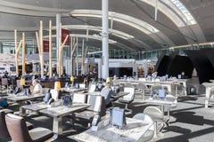 Interno dell'aeroporto internazionale di Toronto Immagini Stock Libere da Diritti