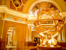 Interno dell'albergo di lusso Immagine Stock Libera da Diritti