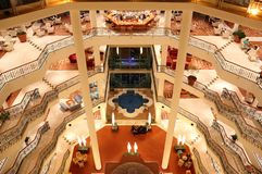 Interno dell'albergo di lusso. Immagini Stock Libere da Diritti
