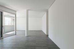 Interno dell'appartamento vuoto Fotografia Stock