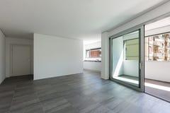 Interno dell'appartamento vuoto Immagine Stock Libera da Diritti