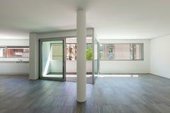 Interno dell'appartamento vuoto Fotografie Stock Libere da Diritti