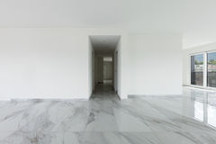 Interno dell'appartamento vuoto Fotografie Stock