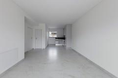 Interno dell'appartamento vuoto Immagine Stock
