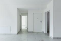Interno dell'appartamento vuoto Immagini Stock Libere da Diritti