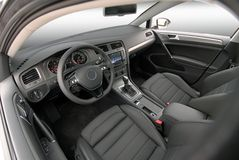Interno dell'automobile Immagine Stock