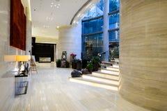 Interno dell'hotel della plaza di Crowne Fotografia Stock Libera da Diritti