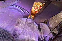 Interno dell'hotel e del casinò cosmopoliti, Las Vegas Fotografie Stock Libere da Diritti