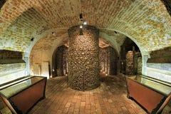 Interno dell'ossario di Brno, repubblica Ceca Immagini Stock