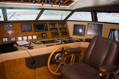 Interno della barca Fotografie Stock Libere da Diritti