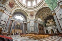 Interno della basilica di Esztergom Fotografia Stock Libera da Diritti