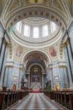 Interno della basilica di Esztergom, Esztergom, Ungheria Immagini Stock Libere da Diritti