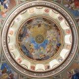 Interno della basilica di St John, Eger, Ungheria Fotografia Stock Libera da Diritti