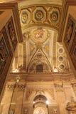 Interno della basilica Nuestra Senora de Merced nella capitale di Cordova, Argentina Immagini Stock Libere da Diritti