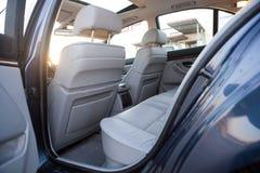 Interno della cabina dell'automobile Fotografie Stock Libere da Diritti
