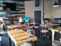 Interno della caffetteria Fotografia Stock Libera da Diritti
