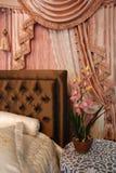Interno della camera da letto…. fotografia stock