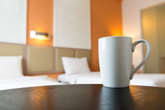 Interno della camera da letto dell'hotel Immagini Stock