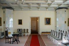 Interno della cappella del palazzo del priore fotografie stock