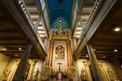 Interno della cappella di Begijnhof, Amsterdam Fotografia Stock