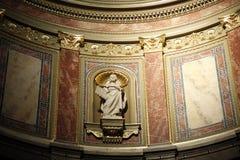 Interno della cattedrale Fotografie Stock
